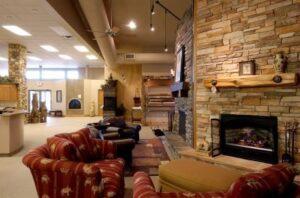 Glowing Hearth Home - interior