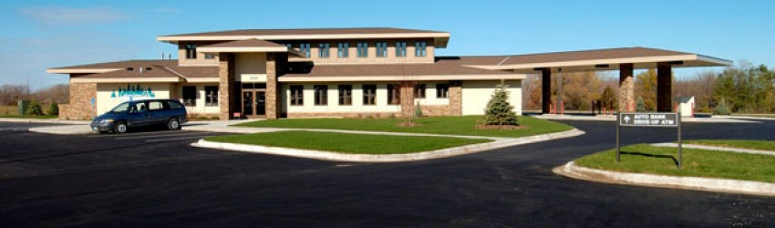 MN commercial construction complete for Lakeview Bank-Lakeville-MN-1 by APPRO Development