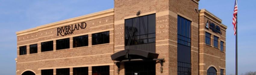 2-story bank building for Riverland Bank-Jordan-1 by APPRO Development