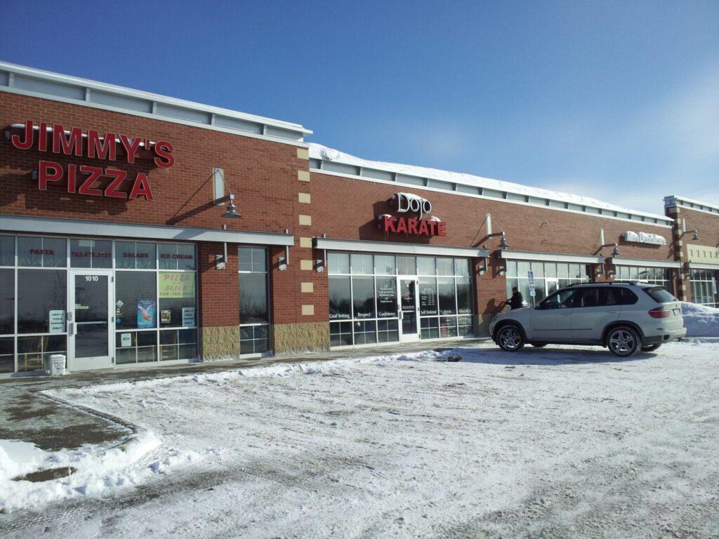 HCS MedSpa Strip Mall View