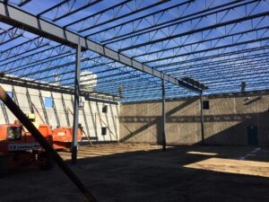 2016-11-28 designed cabinets concrete panels and steel erection