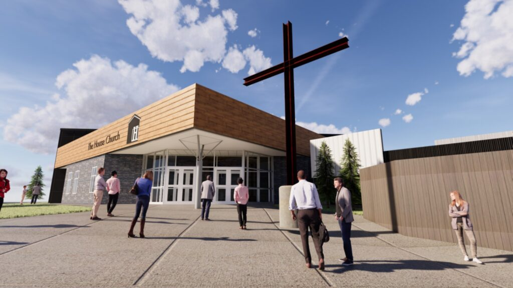 The House Church Rendering