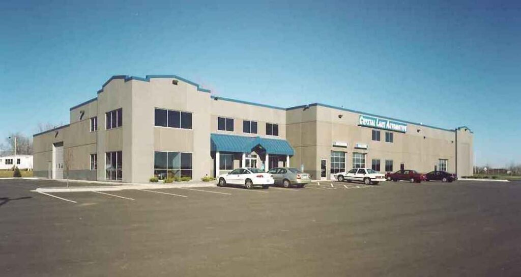 Commercial Building Project for Crystal Lake Ext by APPRO Development