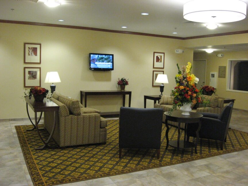 Lobby at Candlewood Suite, ND by APPRO & Real Builders