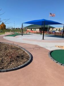 Miracle League - King Park Lakeville MN - Mini Golf Course