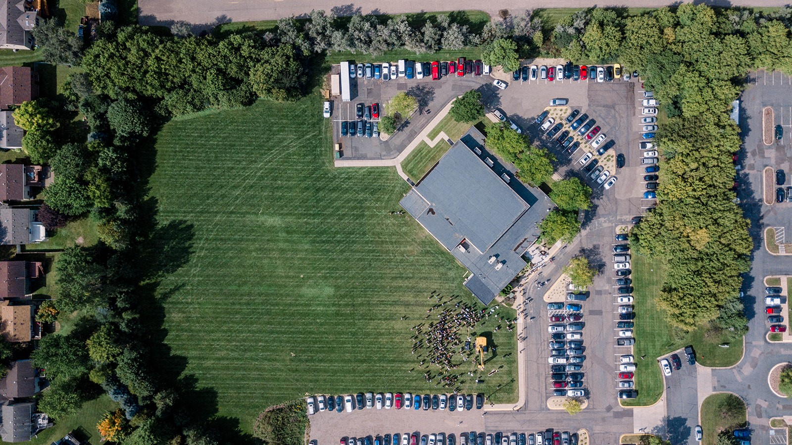 The House Church - Aerial Image of Project Site