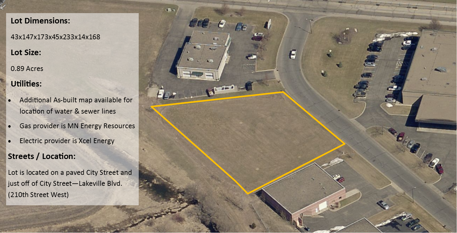 Industrial Land Available