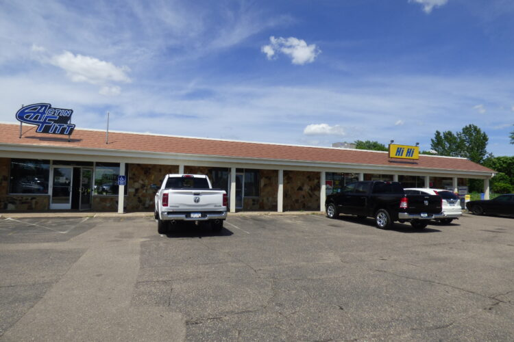 C-store anchored retail for lease at 8333 210th St W - Exterior of Mall
