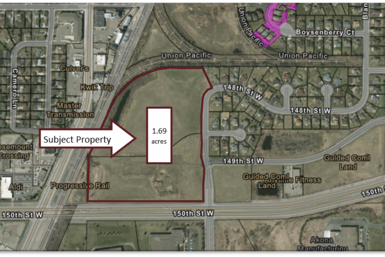 Hotel Land Site Available - Rosemount, MN-01