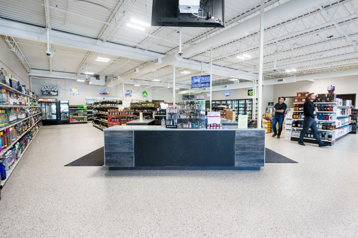 Farmington Liquor Store Remodel by Appro Development 2021-12